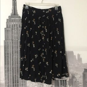 Urban Outfitters Midi Skirt